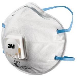 Khẩu trang lọc bụi bảo vệ hô hấp 3M 8822, P2